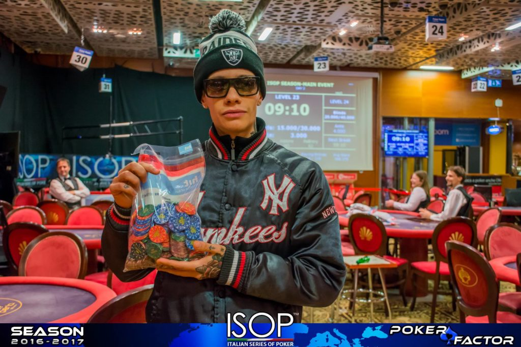 matteo passon chipleader isop day 2