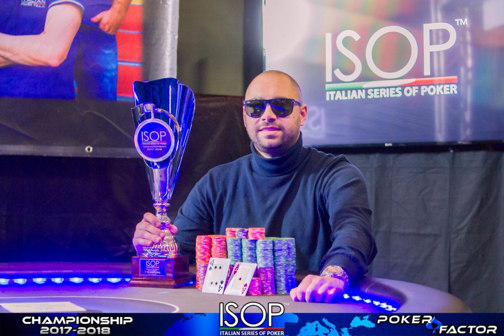 goran delic vincitore ISOP Championship evento 7 marzo
