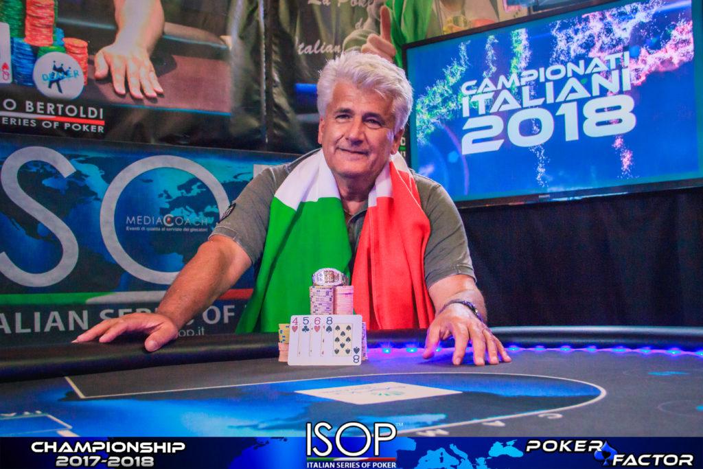 #11 omaha winner isop campionati italiani 2018