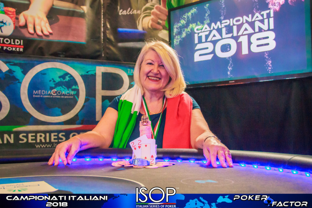 Maria Carla Perraymond isop campionati italiani