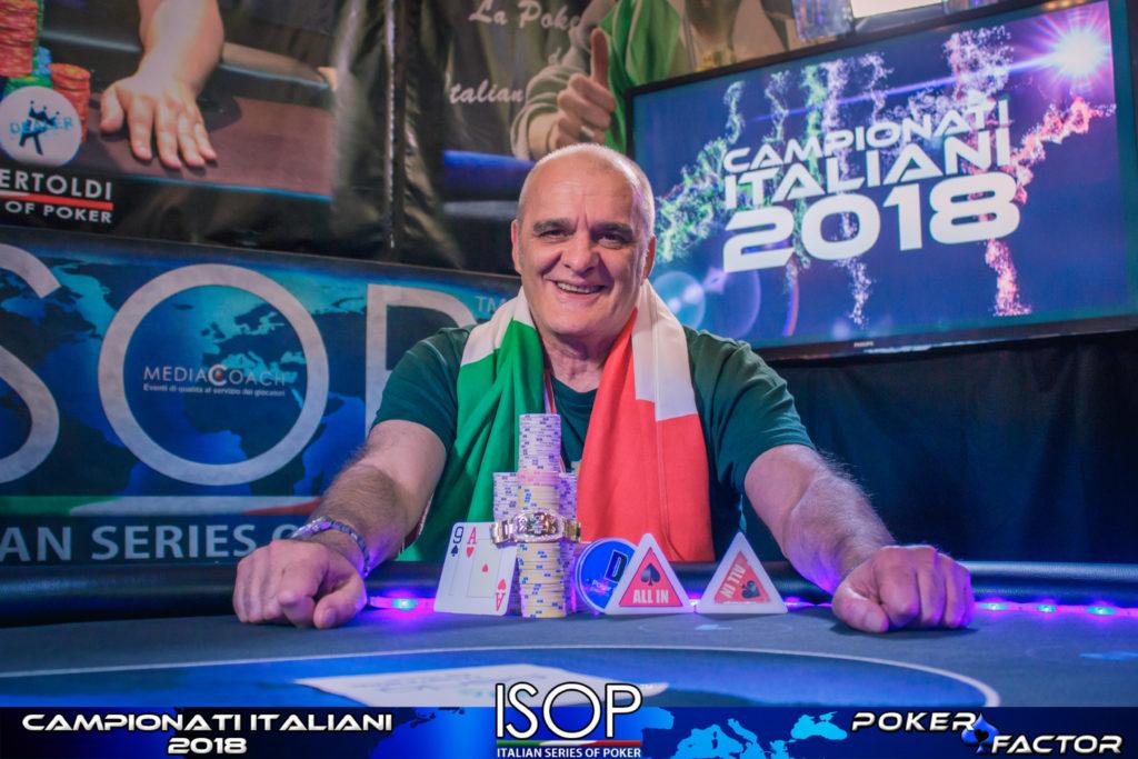 Aldo Cerutti campionato italiano pro