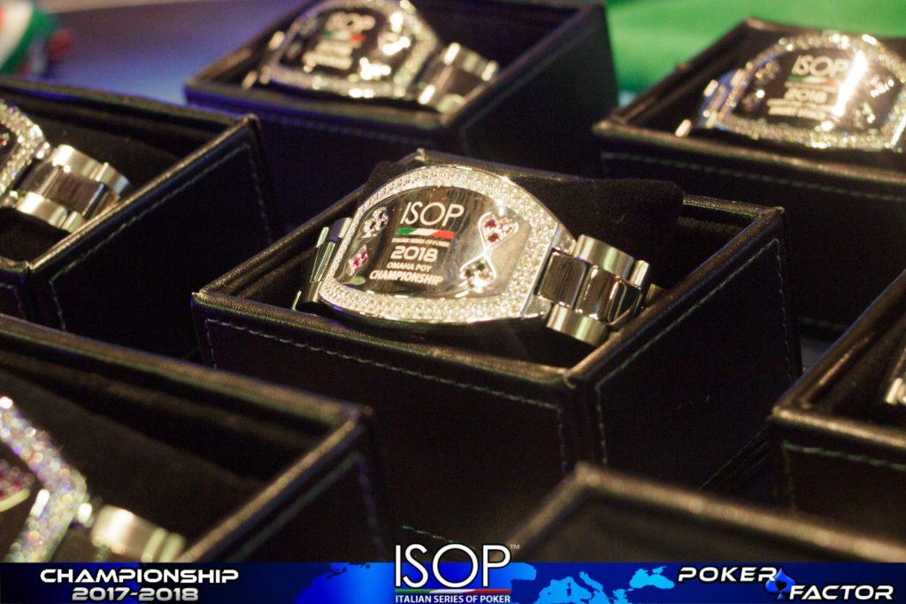 isop bracciale main event campionati italiani poker