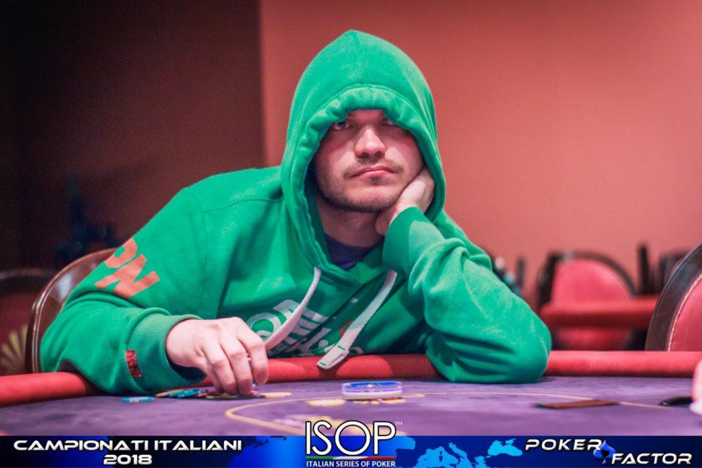 Aleksander Davydov heads up isop campionati italiani poker