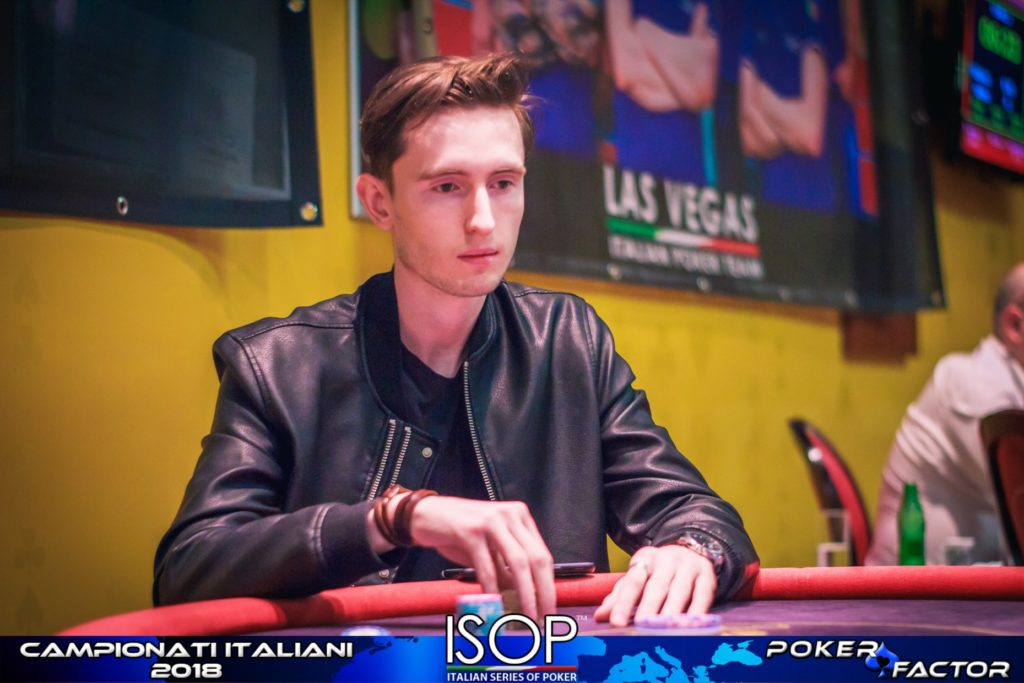 Arsenii Hvozdetsky isop campionati italiani poker 2018