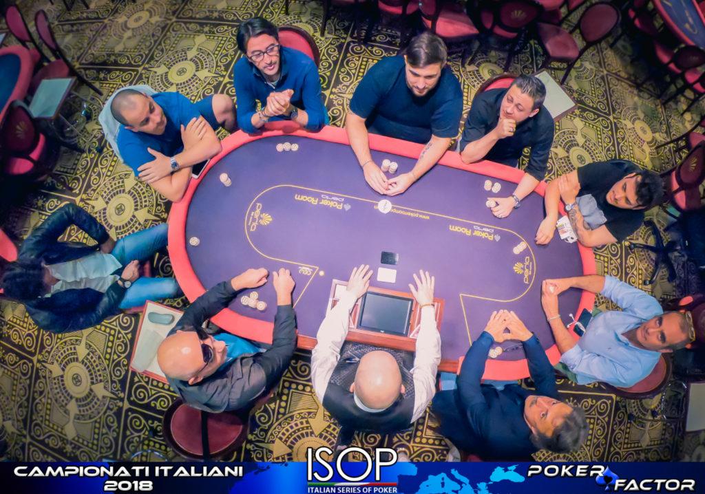 isop campionato italiano poker omaha poy final table
