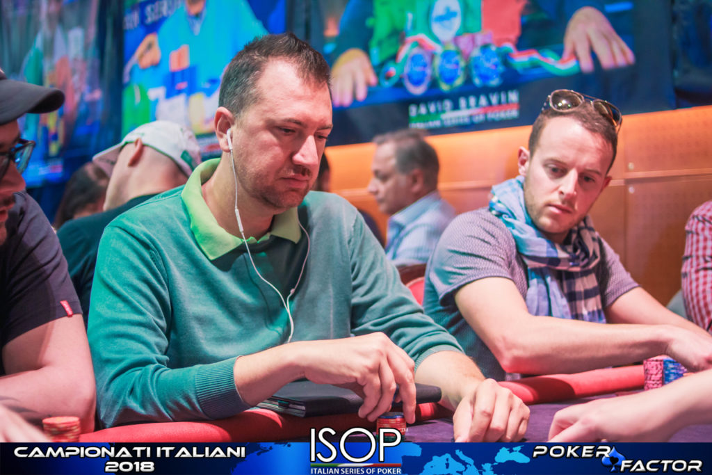 Mario Cerchiara isop main event