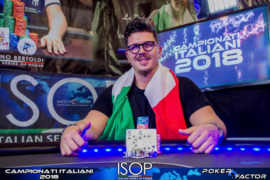 Marco Minerva isop campionati italiani 8-max ko
