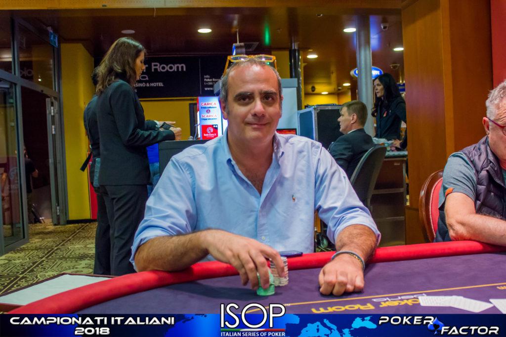 isop campionati italiani poker Matteo Crapanzano omaha