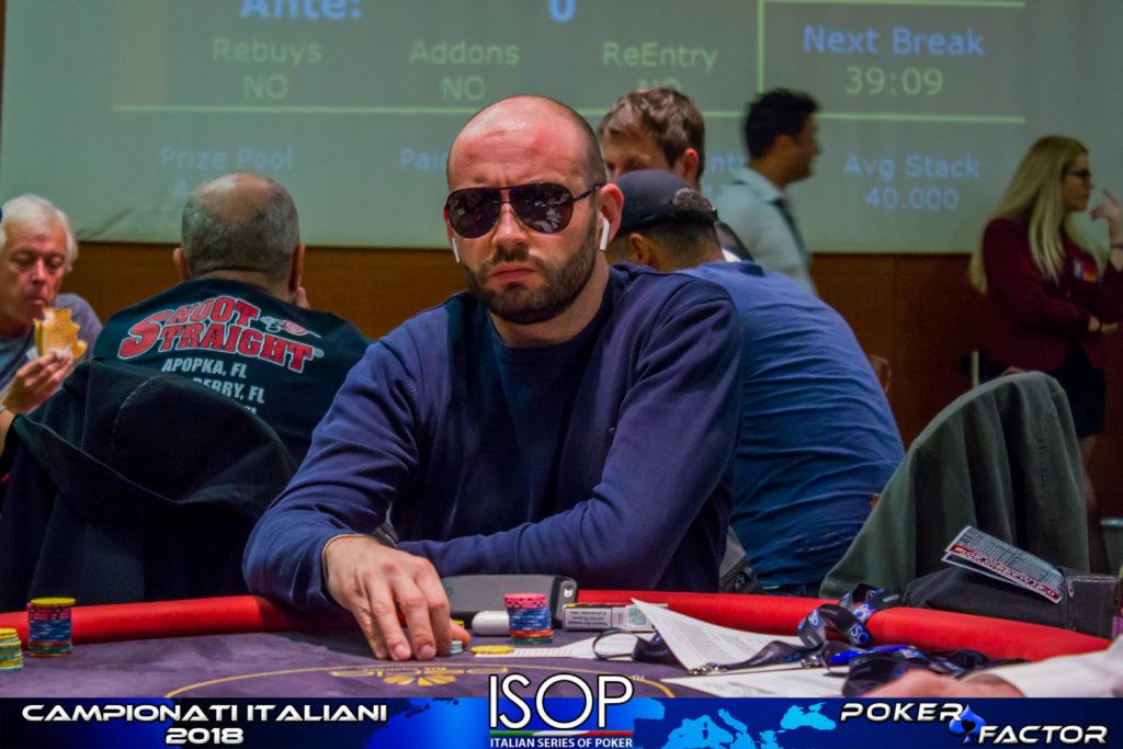isop campionati italiani poker Roberto Roberti omaha