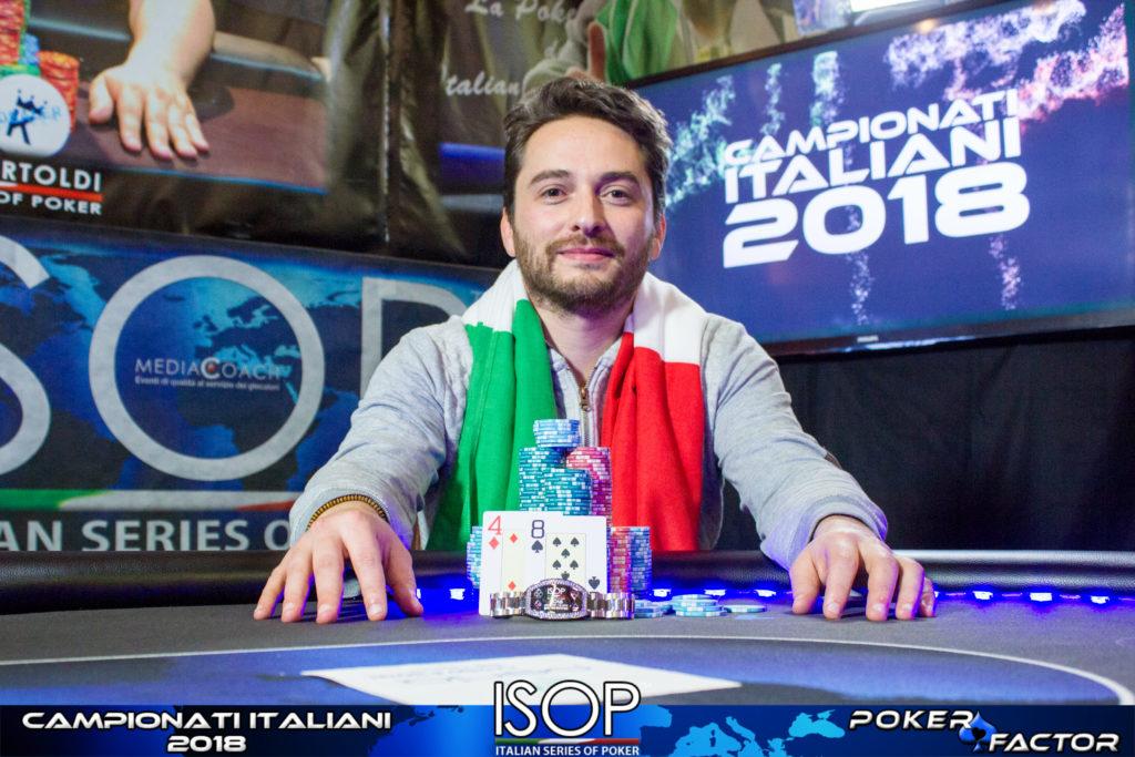 massimiliano para win the button