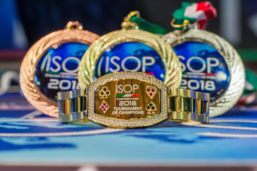 bracciale champions isop campionati italiani 2018