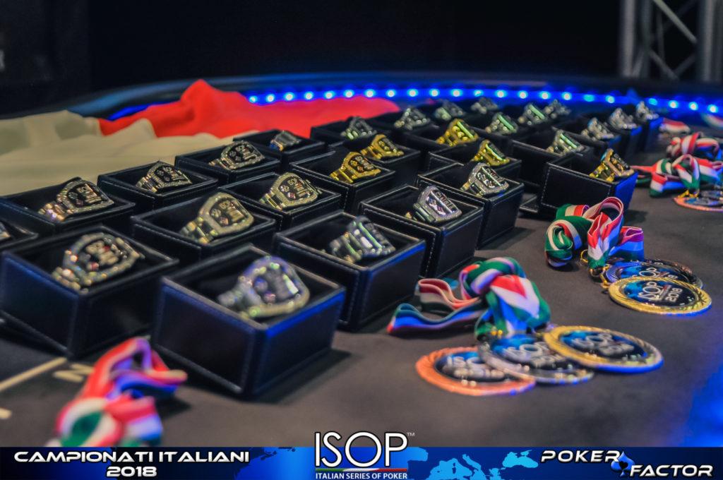 bracciali isop campionati italiani poker 2018