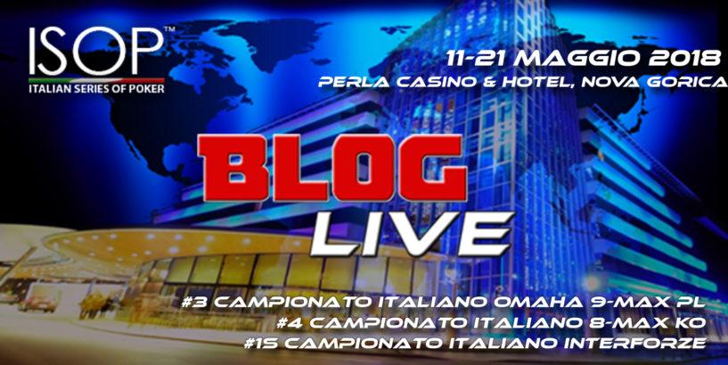 campionati italiani di poker 2018 blog live