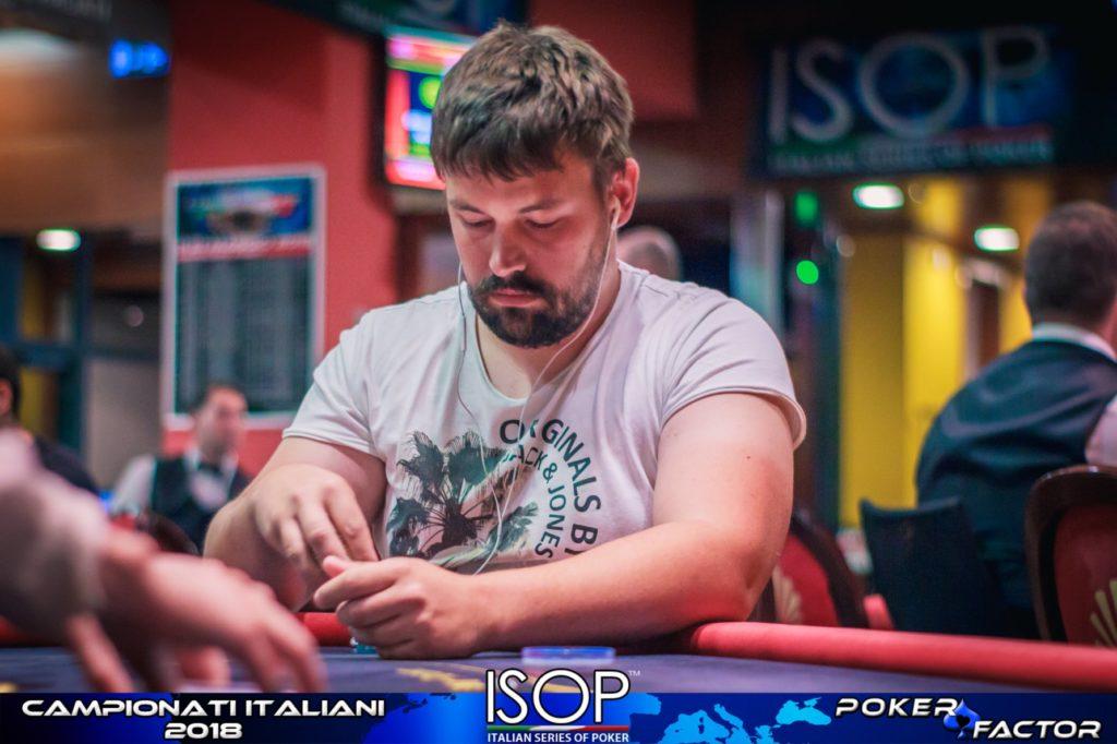 nejc marvin isop campionati italiani poker 2018 heads up