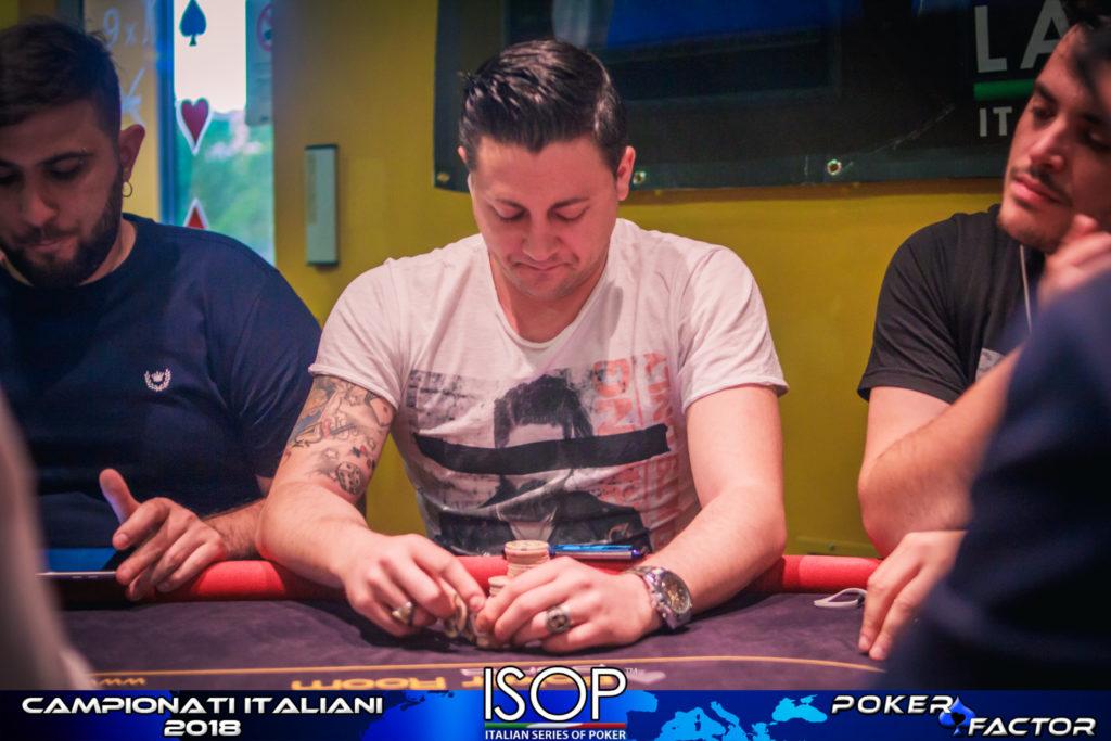 isop campionati italiani poker omaha Andrea Sorrentino