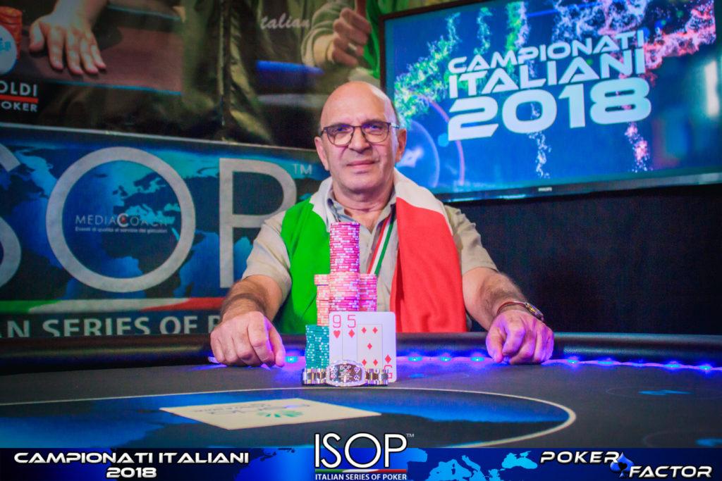 Lorenzo Poser Campione Italiano 6-Max
