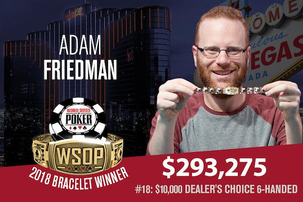adam friedman wsop