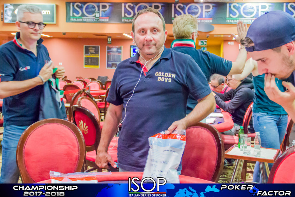 mirco ferrini chipleader main isop championship evento 10