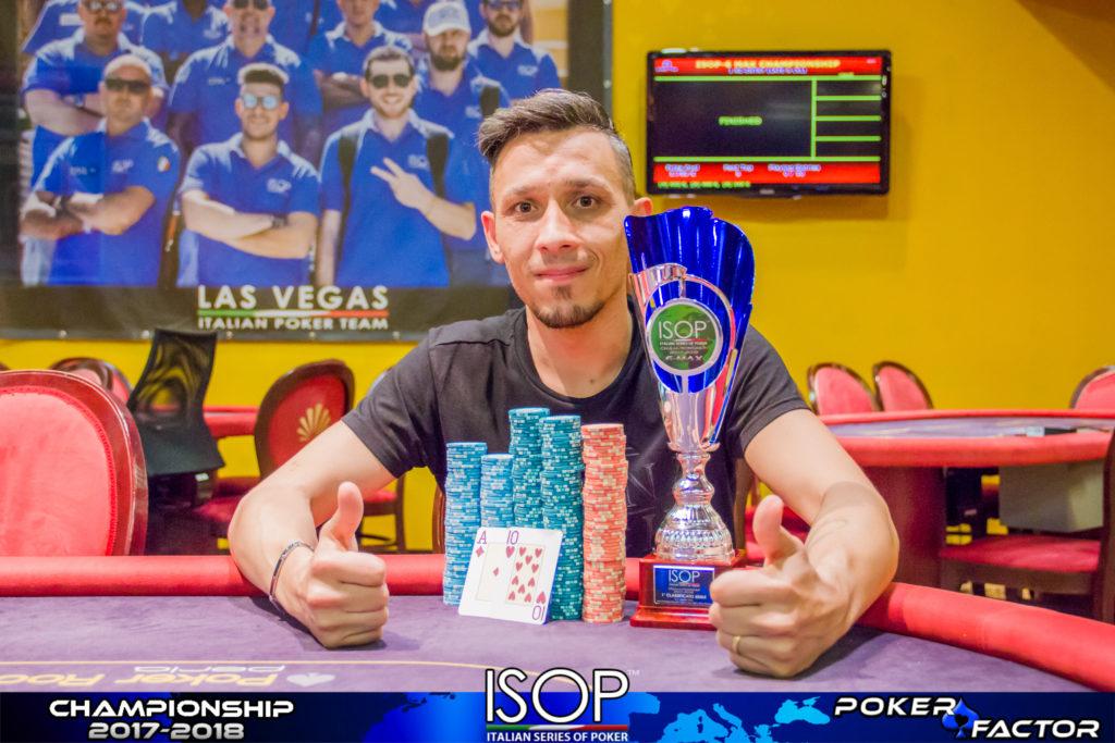 isop championship evento 10 giugno antonio greco vince 6-max