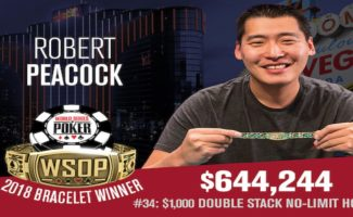 robert peacock wsop