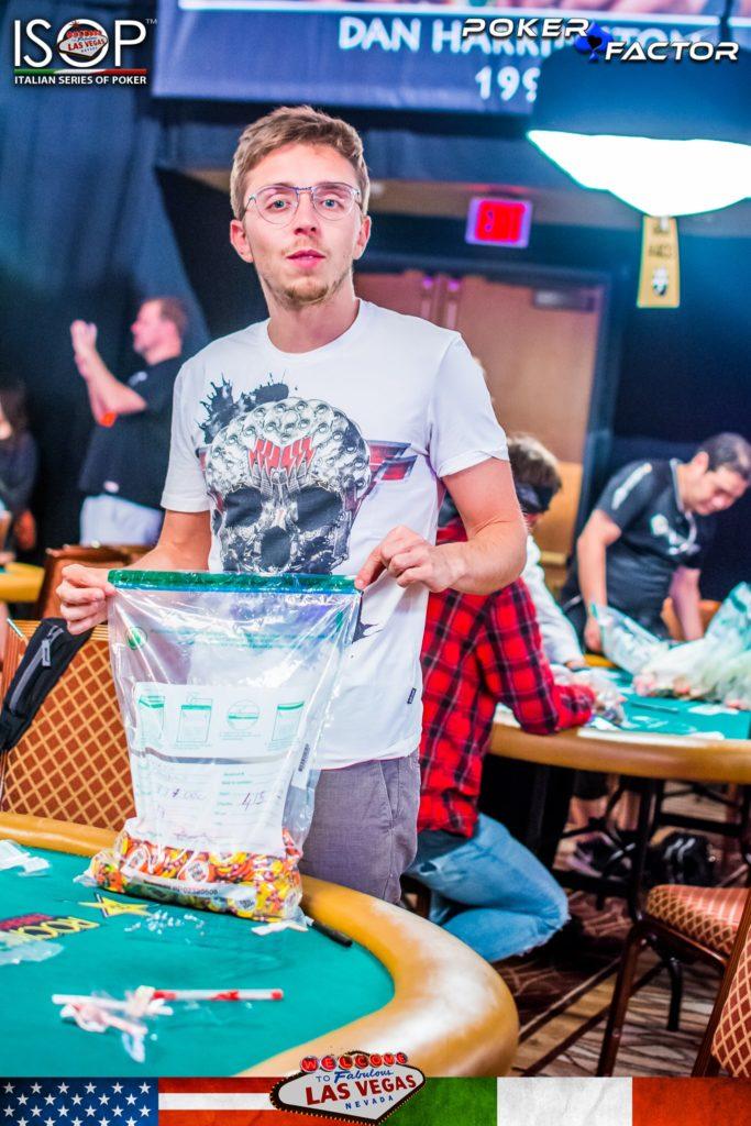 Alessandro Borsa WSOP 2018 Main Event Las Vegas