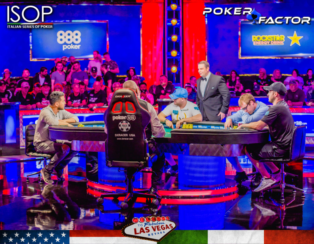 Final Table 6 Main Event WSOP 2018