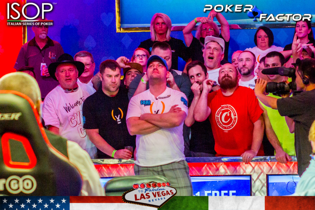 Nicholas Manion 4th wsop 2018 world series of poker final table main event 3 left
