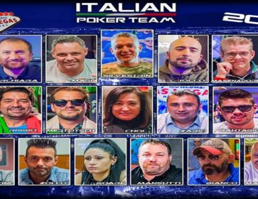 italian poker team 2018