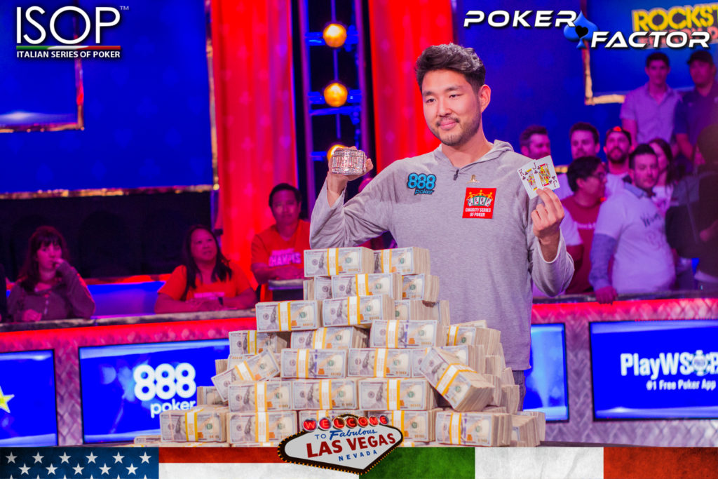 John Cynn new World Series Of Poker WSOP 2018 Main Event Champions-1