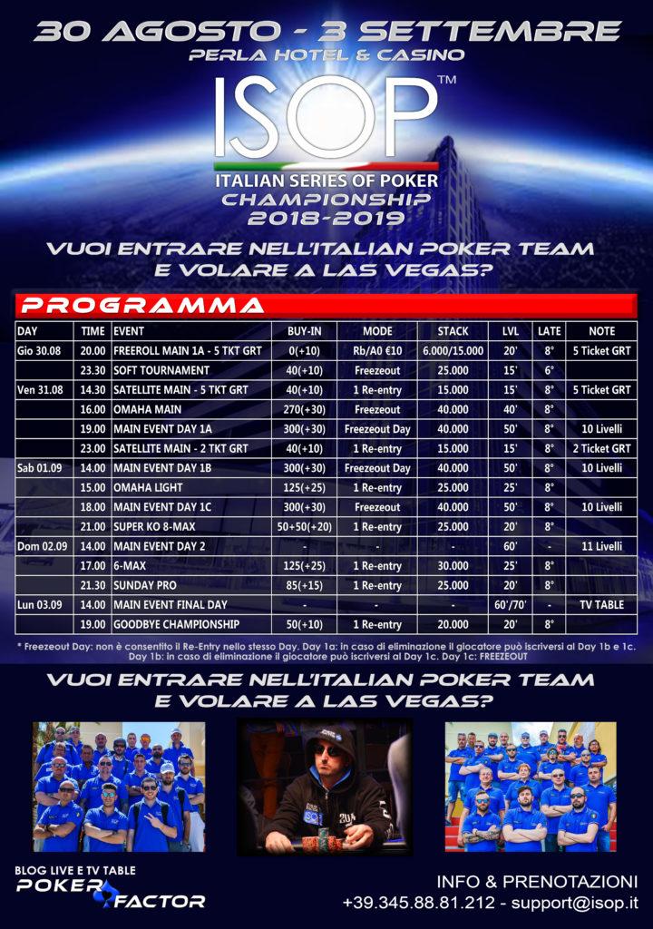 ISOP Championship 2018-2019
