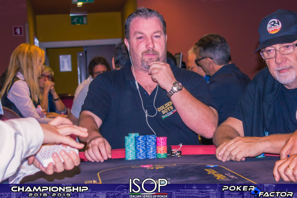 Jonni Mansutti isop championship 2018 2019