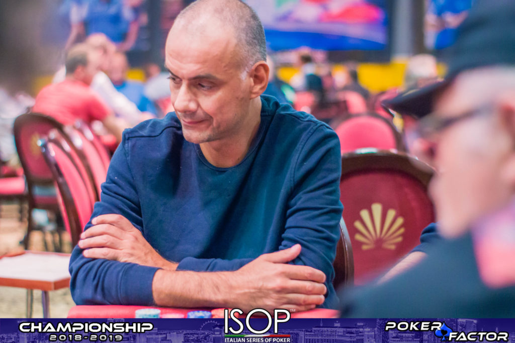 Marco Pancioni isop championship 2018 2019