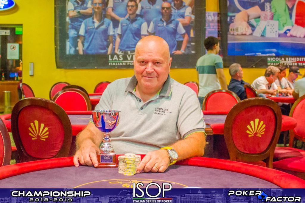 Carlo Braccini Isop championship 2018 2019