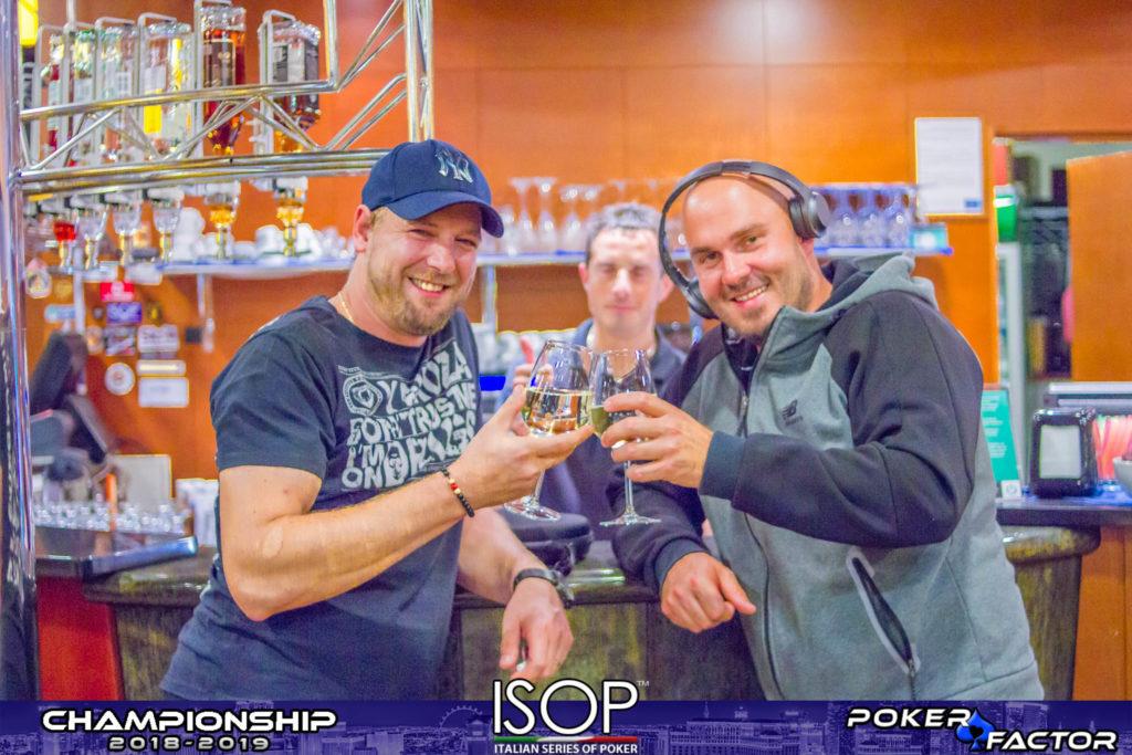 Chipleader day1b Emanuel Kotnik isop championship 2018 2019