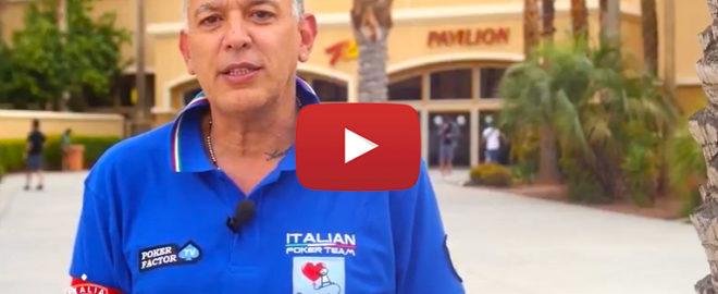giorgio silvestrin capitano italian poker team