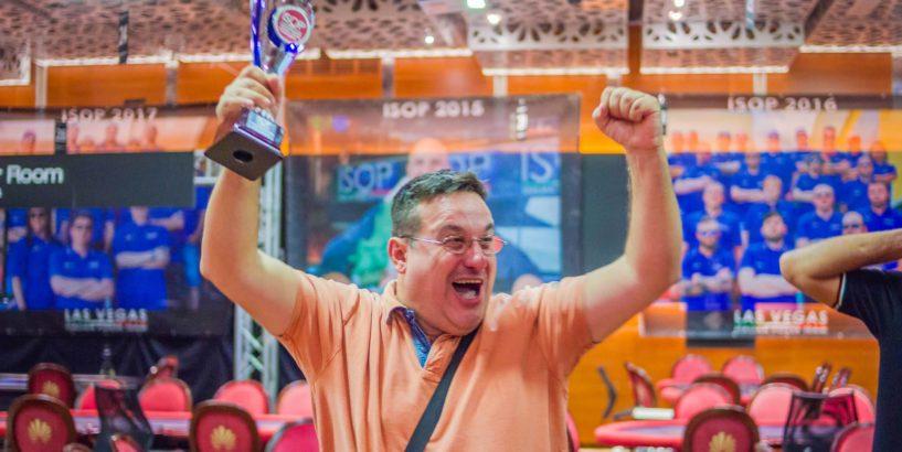 Agazio Gerace Swissy Rinaldi isop championship 2018 2019