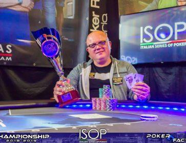 Fabio Foschi isop championship main event winner