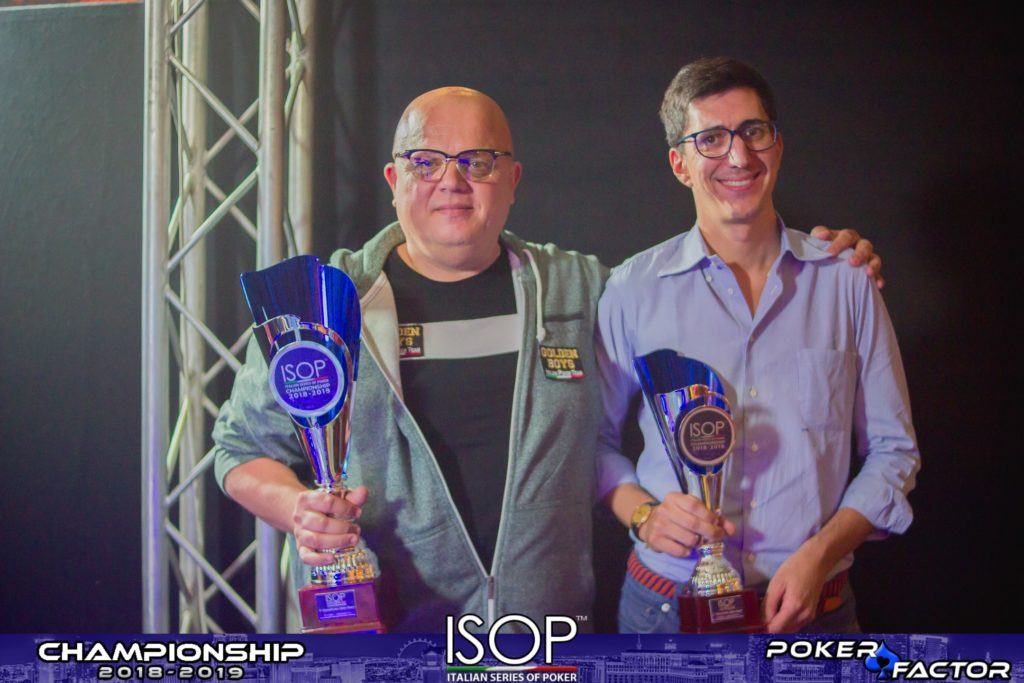 main event heads up isop championship 2018/2019
