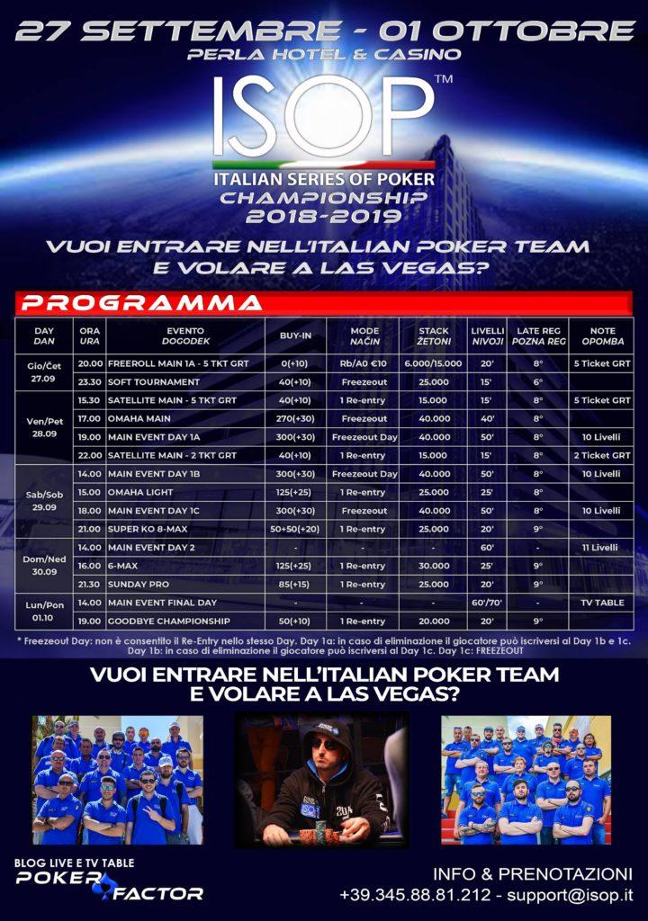 isop championship 2018-2019 evento 2 settembre