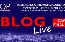 blog live day2 ISOP championship 2018/2019