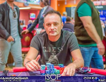 Trincarato Giuseppe isop championship day1b chipleader