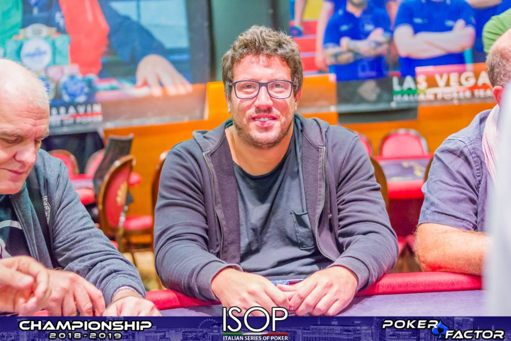 Marco D'Angelo isop championship main event final day