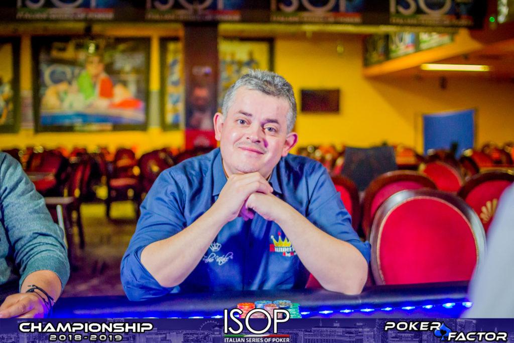 Lorenzo Bonesso final day main event isop championship 2018 2019