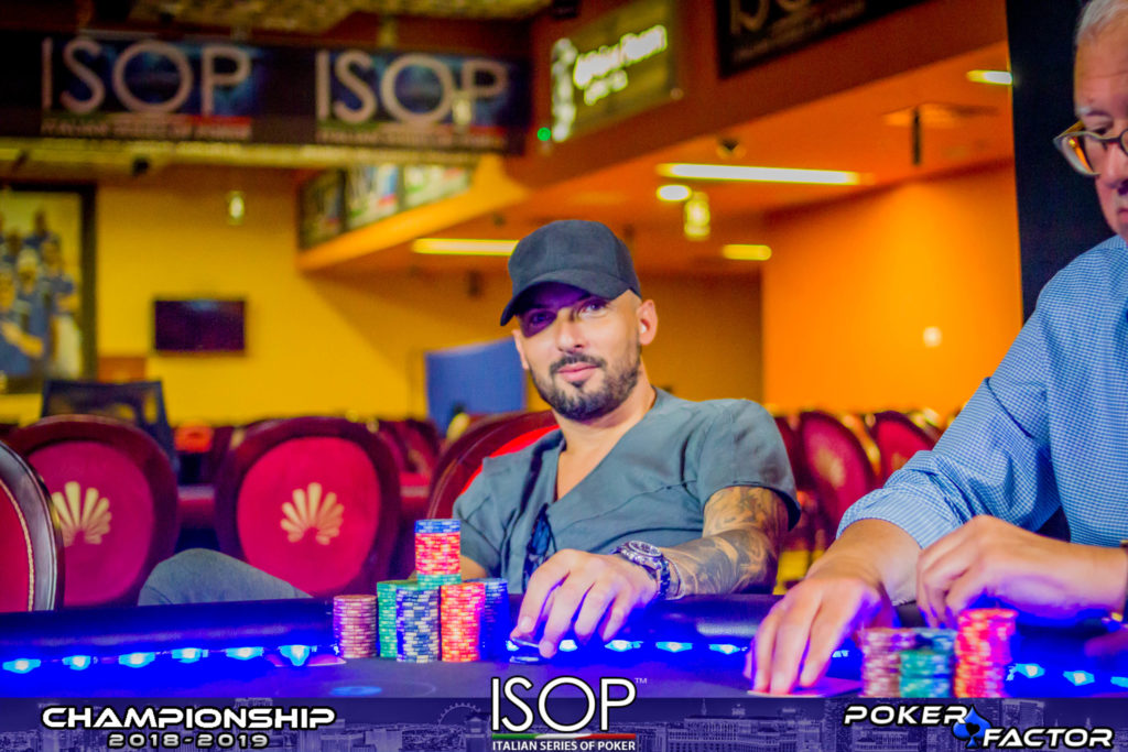 Roberto Musu main event final day isop championship 2018/2019