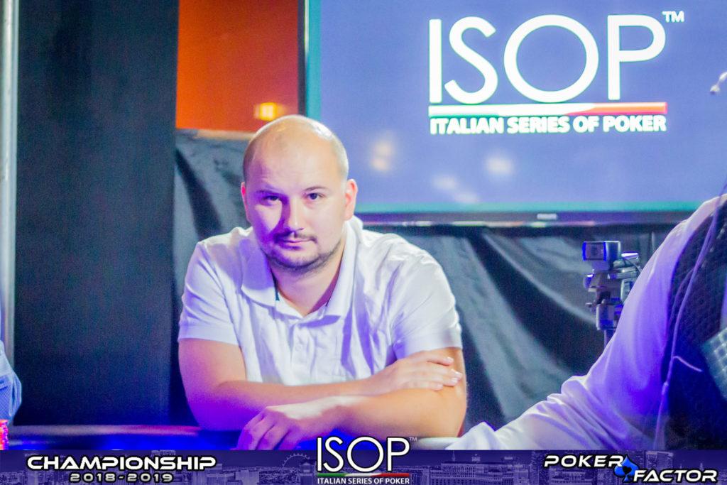 Mario Menicanin isop championship 2018 2019