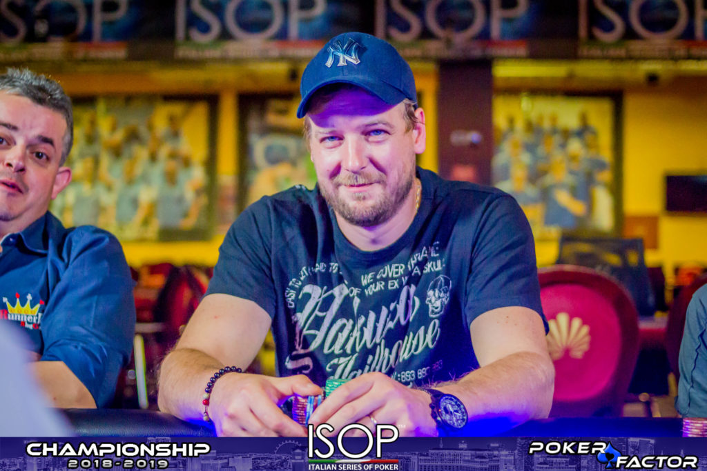 Emanuel Kotnik final day main event isop championship 2018/2019