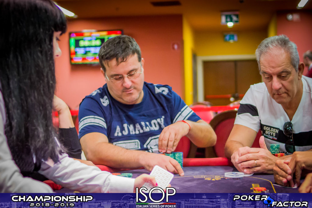 Agazio Gerace out Main Event isop championship 2018/2019