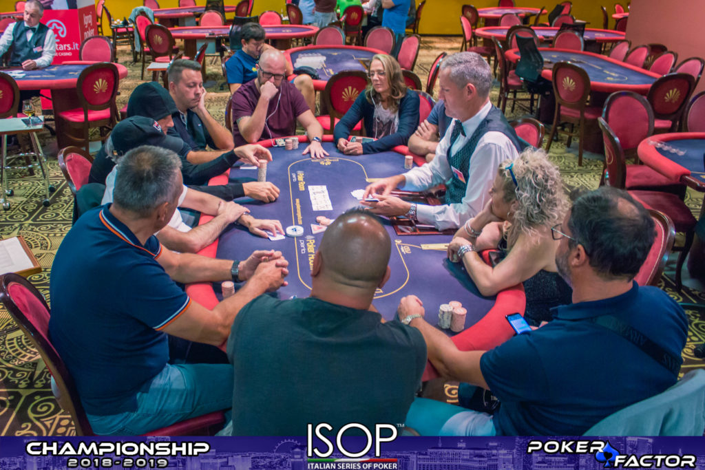 Final Table sunday pro isop championship 2018 2019