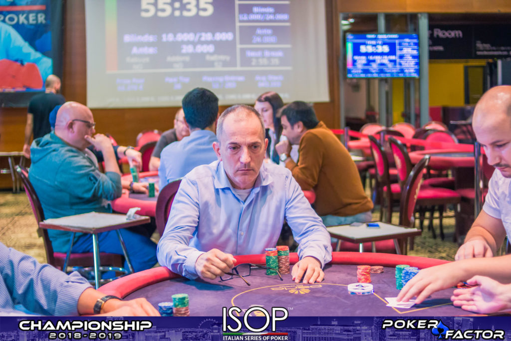 Michele Caroli final day main event isop championship 2018 2019