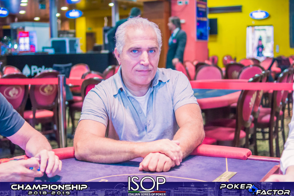 Davide Ciccarelli final day main event isop championship 2018 2019
